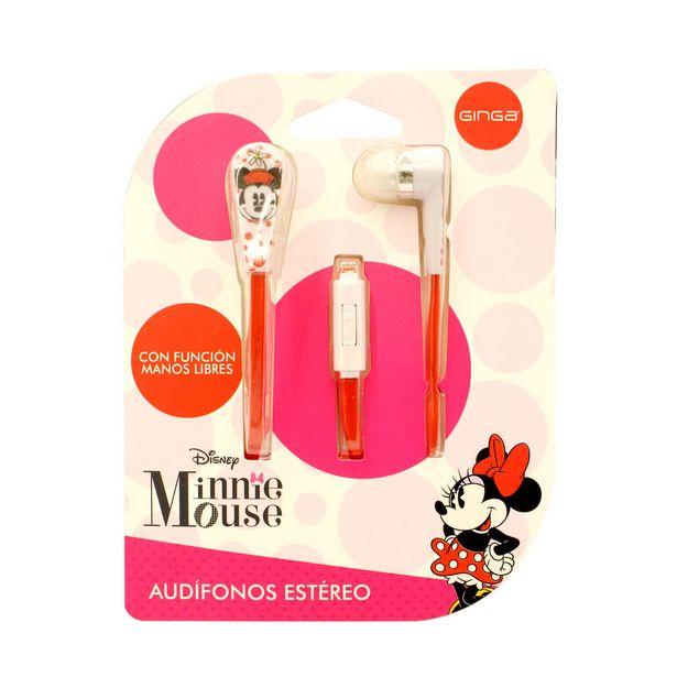 Oferta de Audifono Minnie Manos Libres Ginga por $129.9