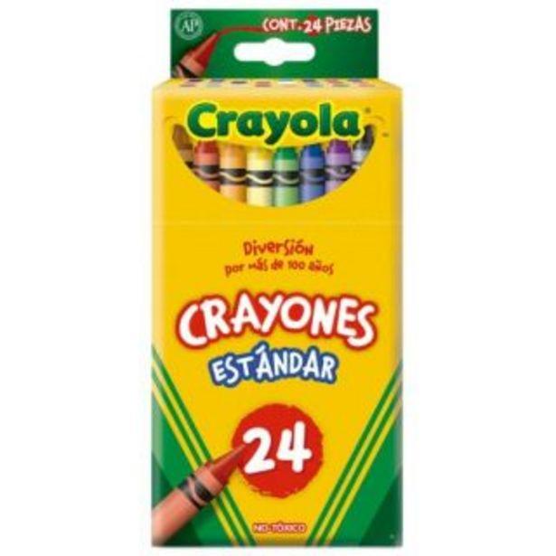 Oferta de Crayones c/24 Crayola por $38.5