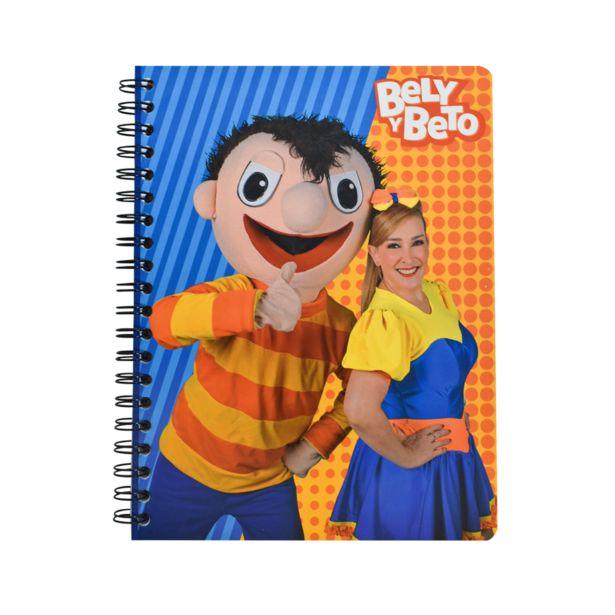 Oferta de Cuaderno Profesional Raya 100 Hojas de Bely y Beto 390828 por $23.9