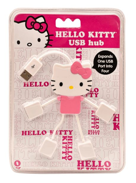 Oferta de Hub Hello Kitty 4 Puertos USB SKR-75009-SP HELLO KITTY por $69