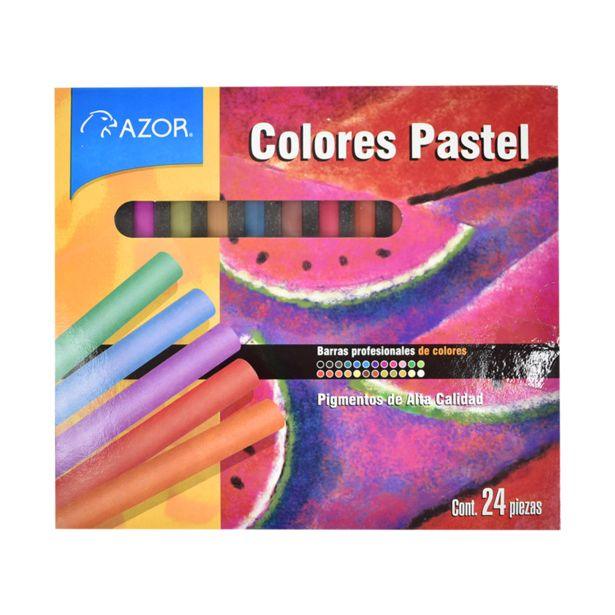Oferta de Gises C/24 Pastel Stanfford por $84.5