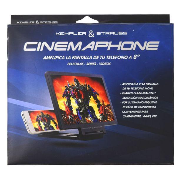 "Oferta de Cinemaphone Amplificador Pantalla 8"" K&S. por $99.9"