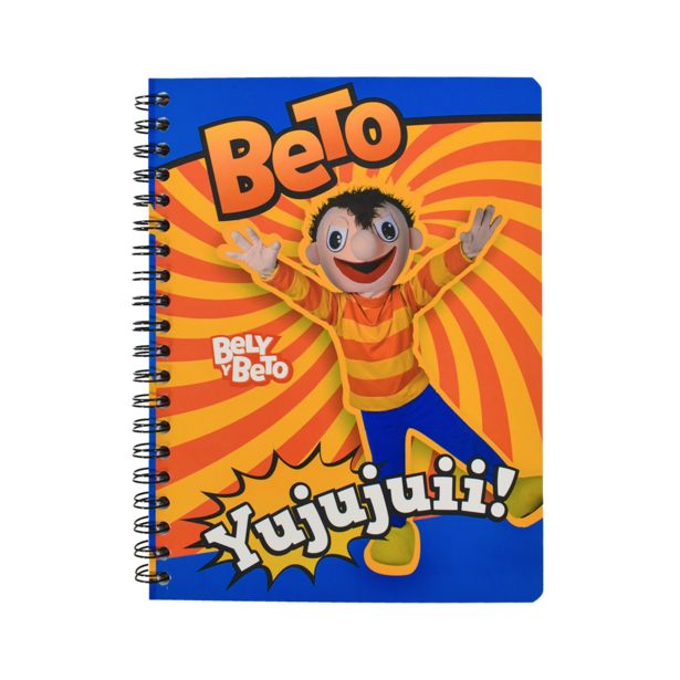 Oferta de Cuaderno Profesional Raya 100 Hojas de Bely y Beto 390823 por $23.9