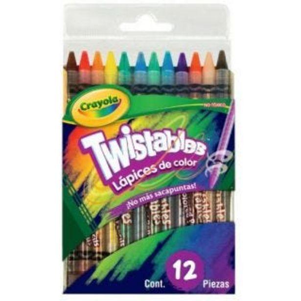 Oferta de Colores c/12 twistables crayola por $88.5