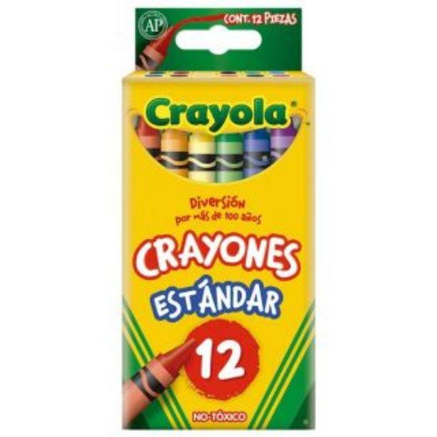 Oferta de Crayones 12pzas Crayola por $19.9
