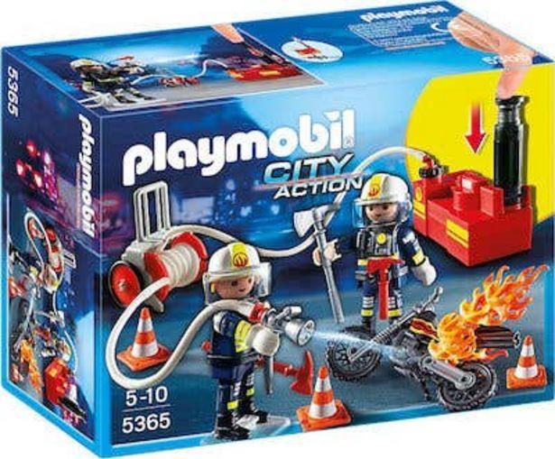 Oferta de Playmobil 9468 Bomberos Con Bomba De Agua por $299