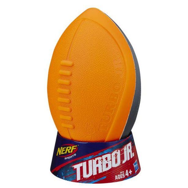 Oferta de Nerf A9715 Nerf Sports Trubo Jr Balón de Fútbol por $209