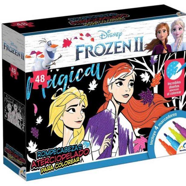 Oferta de Rompecabezas Atercipopelado Frozen Ii por $199