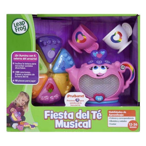 Oferta de Leapfrog Fiesta Del Té Musical 101588 por $517.3