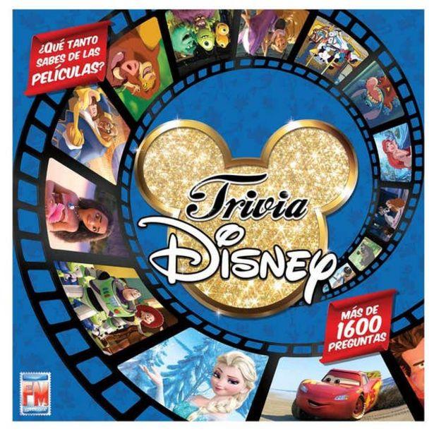 Oferta de Juego de Mesa Trivia Disney por $369