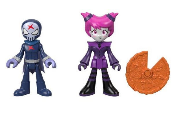 Oferta de Imaginext Teen Titans Go! Red y Jinx por $151.2