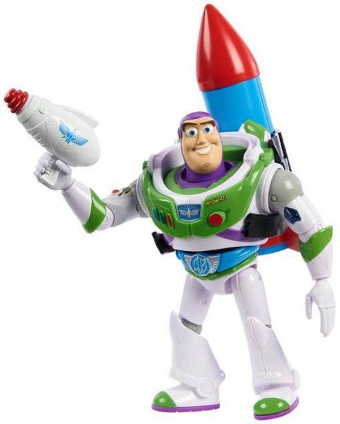 Oferta de Disney Pixar Toy Story Buzz con accesorios por $161.7