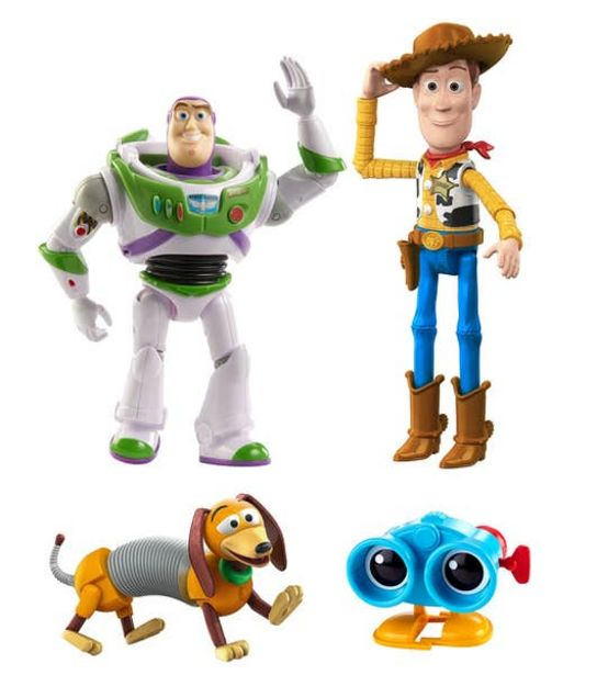 Oferta de Disney Pixar Toy Story Baúl de juguetes de Andy por $96.9