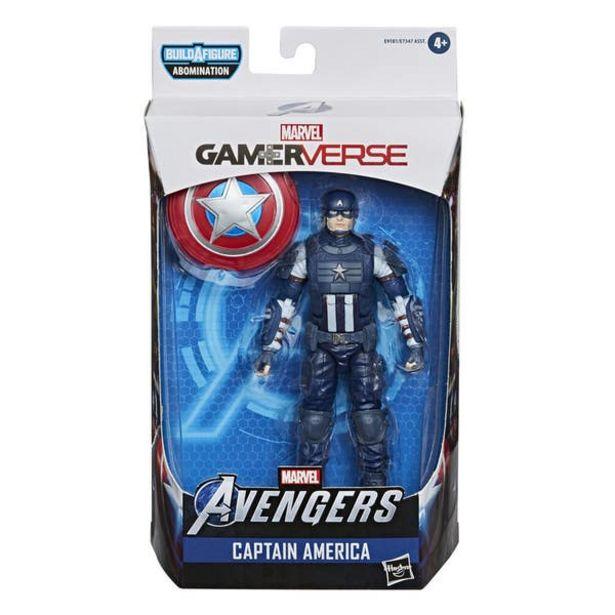 Oferta de Hasbro Marvel Legends Series Gamerverse - Figura coleccionable del Capitán América de 15 cm por $247.6