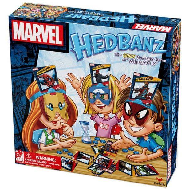 Oferta de Juego De Mesa Hedbanz Marvel 6045314 por $459
