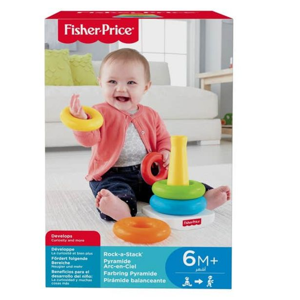 Oferta de Fisher-Price Pila de Aritos por $90.3