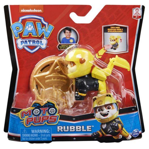 Oferta de Paw Patrol moto pups Rubble 6059490 por $239