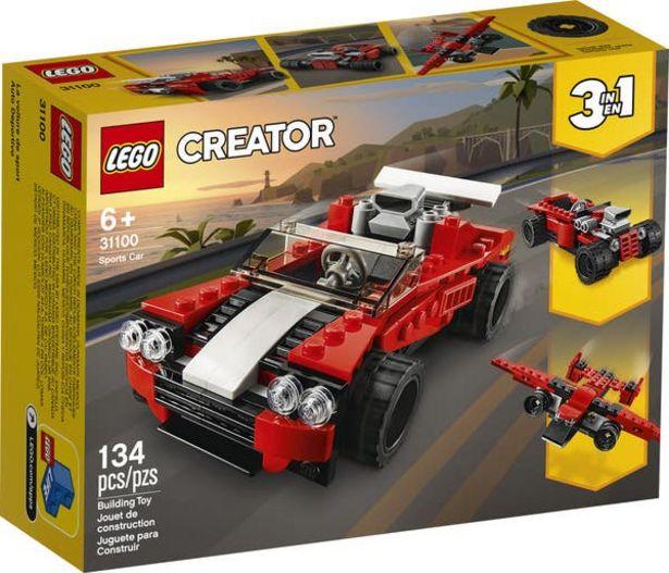 Oferta de LEGO Creator Auto Deportivo 31100 por $167.2