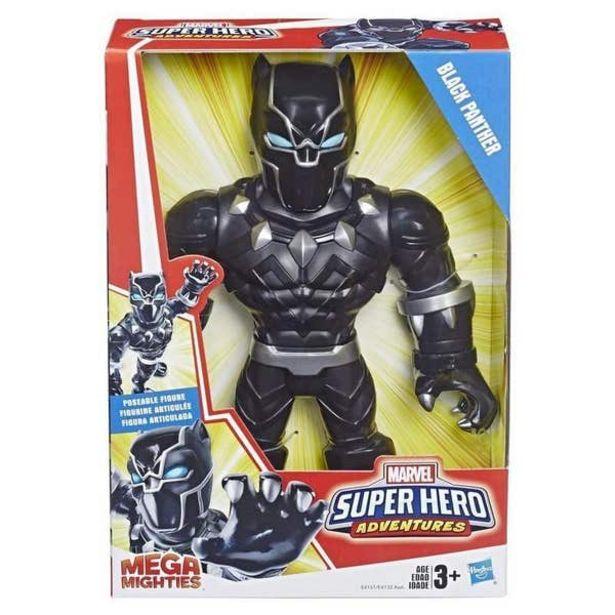 Oferta de Marvel E4151 Playskool Marvel Mega Mighties Black Panther Juguete Hasbro 1152E4151 por $399