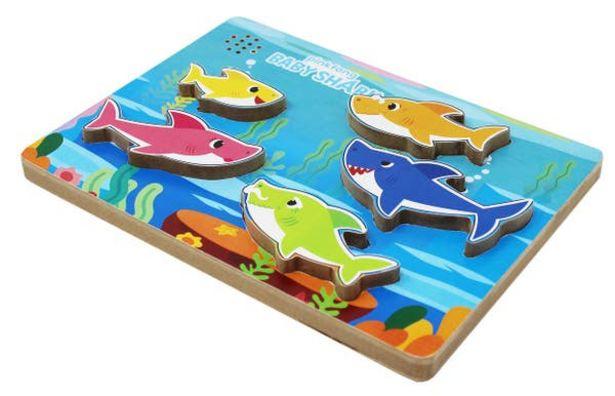 Oferta de Rompecabezas Musical Baby Shark  Spin Master por $257.4