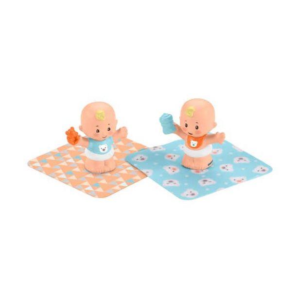 Oferta de Fisher-Price Babies Gemelos Carlos y Luis por $101.4