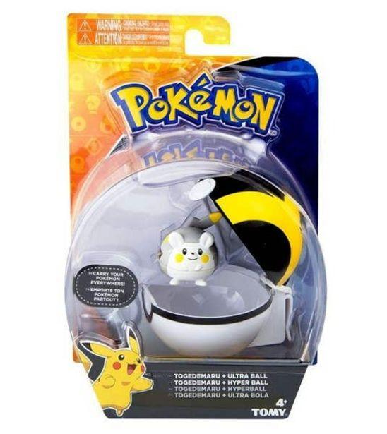 Oferta de Set Figura y Pokeball Clip N' Carry Pokemon Mimiyiku 113155 por $104.7