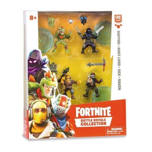 Oferta de Pack De 4 Figuras Fortnite Bandai 81795 por $509.4