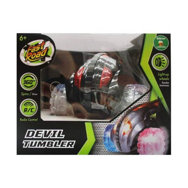 Oferta de Fast Road Vehiculo Radio Control Devil Tumbler 10505 por $519.2