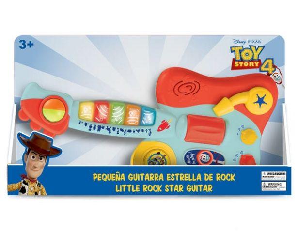 Oferta de Toy Story 10601B Guitarra Infantil Toy Story 4 por $399.2