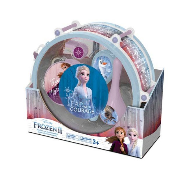 Oferta de Frozen 10703B Tambor Musical Frozen 2 por $299