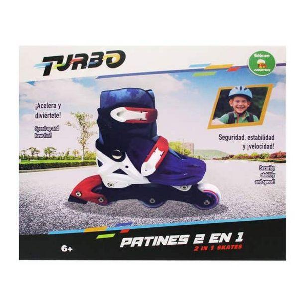 Oferta de Patines 2 En 1 Turbo por $399