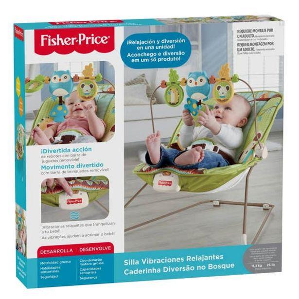 Oferta de Fisher-Price Silla Vibraciones Relajantes por $713.4