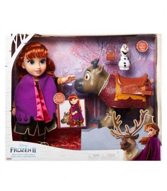 Oferta de Muñeca de Anna y Sven Frozen 2 por $1