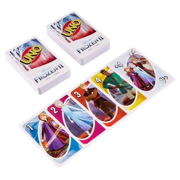 Oferta de UNO Frozen Juego de cartas por $41.7