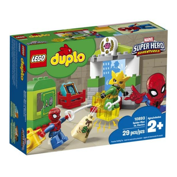 Oferta de Lego 10893 Spider-Man vs. Electro por $279