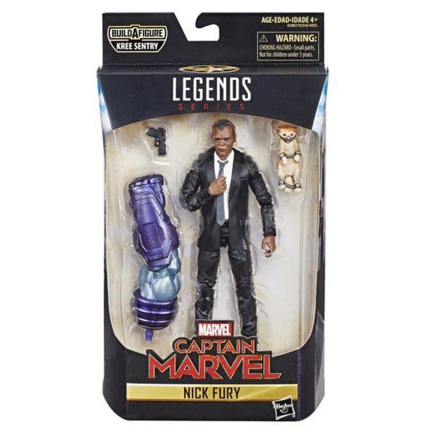 Oferta de Marvel E3887 Figura Nick Fury 6 Pulgadas Capitana por $115.8