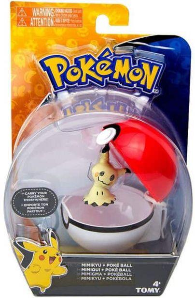 Oferta de Set Figura y Pokeball Clip N' Carry Pokemon Togedemaru 113155 por $104.7