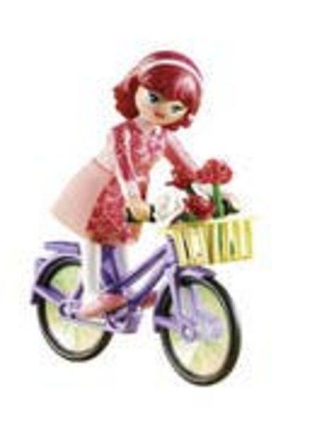 Oferta de Playmobil 70124 Maricela con Bicicleta por $99