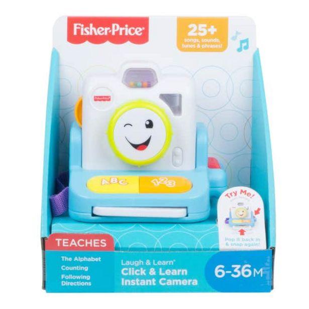 Oferta de Fisher-Price Cámara Sonríe y Aprende por $327.2