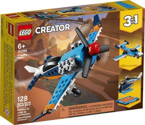 Oferta de Lego Creator 31099 Avión de Hélice por $167.2