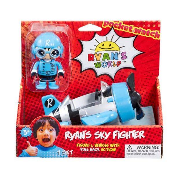 Oferta de Vehiculo y Figura Ryan's World Sky Fighter por $179.7