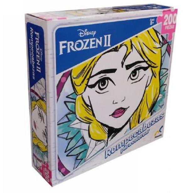 Oferta de Rompecabezas Para Colorear Mandalas Frozen Ii 200 Piezas por $149