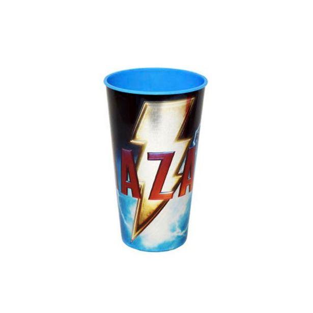 Oferta de Vaso Laser Shazam 600ml Avengers por $29