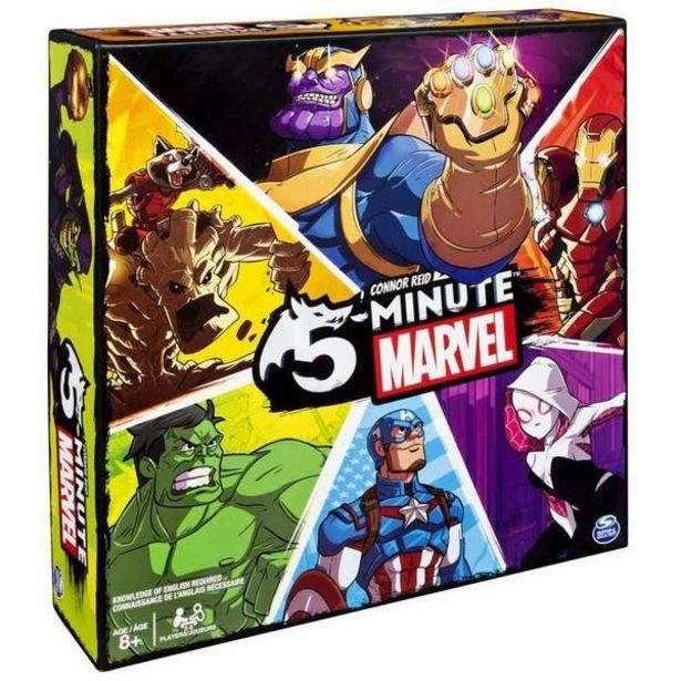 Oferta de 5 Minutos Marvel 6052569 por $579
