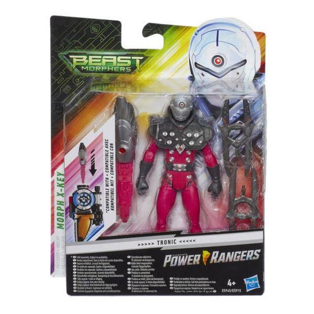 Oferta de Power Rangers E5945 Figura Tronic 6 Pulgadas con Accesorios por $95.6