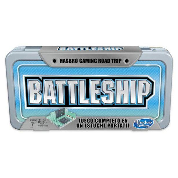 Oferta de Hasbro Gaming Juego de Mesa Battleship - Juego de Viaje por $489