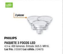 Oferta de Spots led Philips por