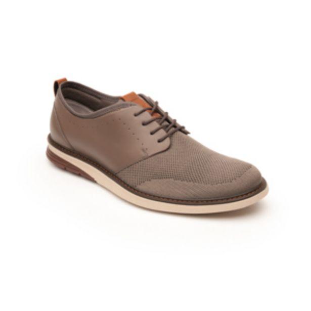 Oferta de Zapato Casual Urbano Flexi De Tejido Para Hombre - Estilo 402403 Taupe por $499.5