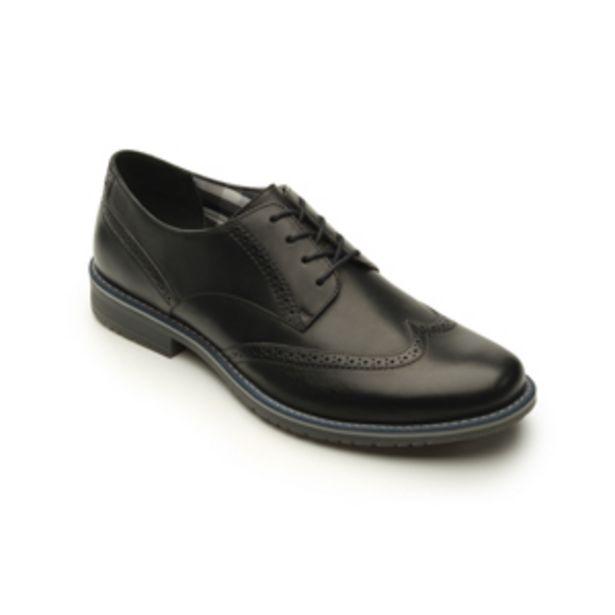 Oferta de Zapato Casual Urbano Flexi De Tipo Bostoniano Para Hombre - Estilo 92402 Negro por $499