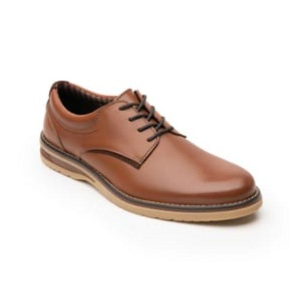 Oferta de Zapato Derby Flexi para Hombre con Agujetas Estilo 404501 Tan por $839.2